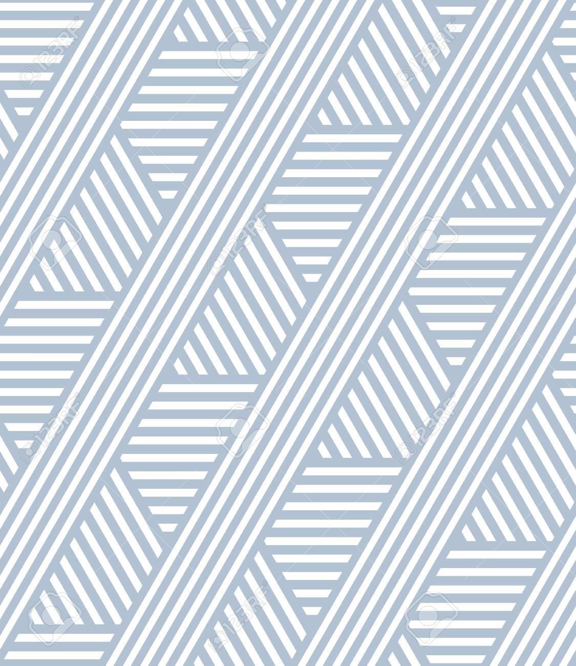 Seamless striped lines pattern. Geometric texture. Vector art. - 71133169