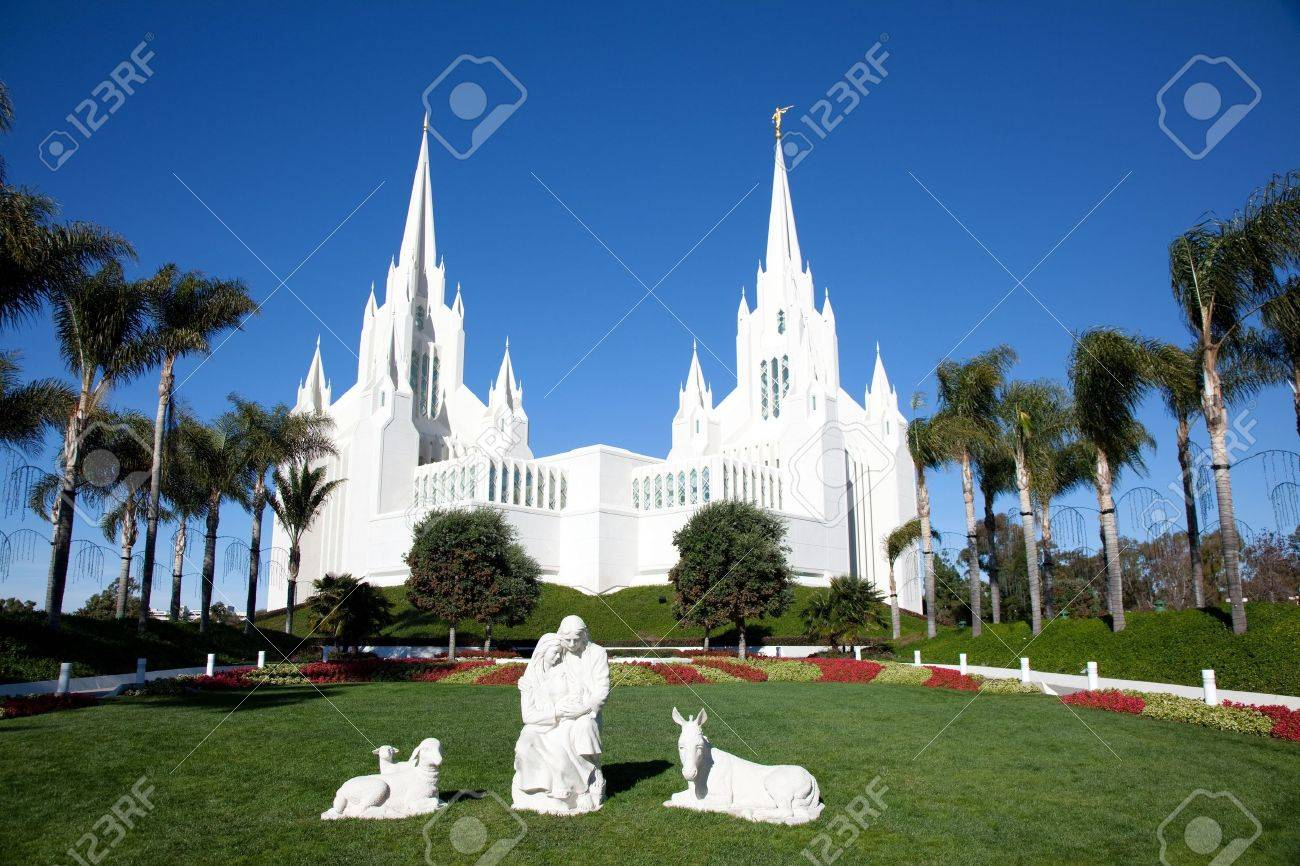 Temple Of The Church Jesus Christ Latter Day Saints LDS