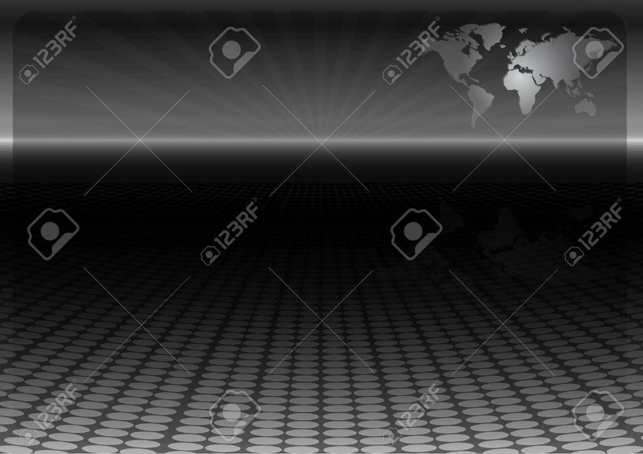 World map technology vector design template - News vector layout background Stock Vector - 8242982