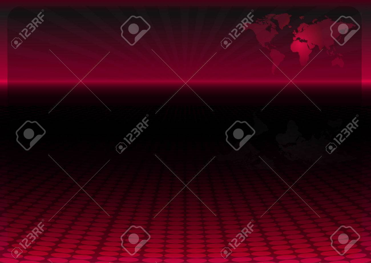 World map design background template - News layout background Stock Vector - 8753243