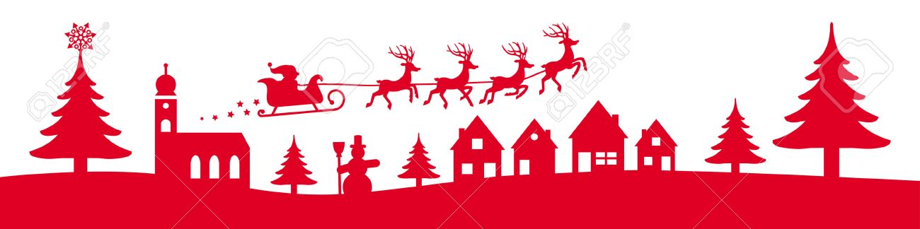 Ordinary Christmas Banner Part - 12: Vector - Winter Christmas Banner Red Coloured