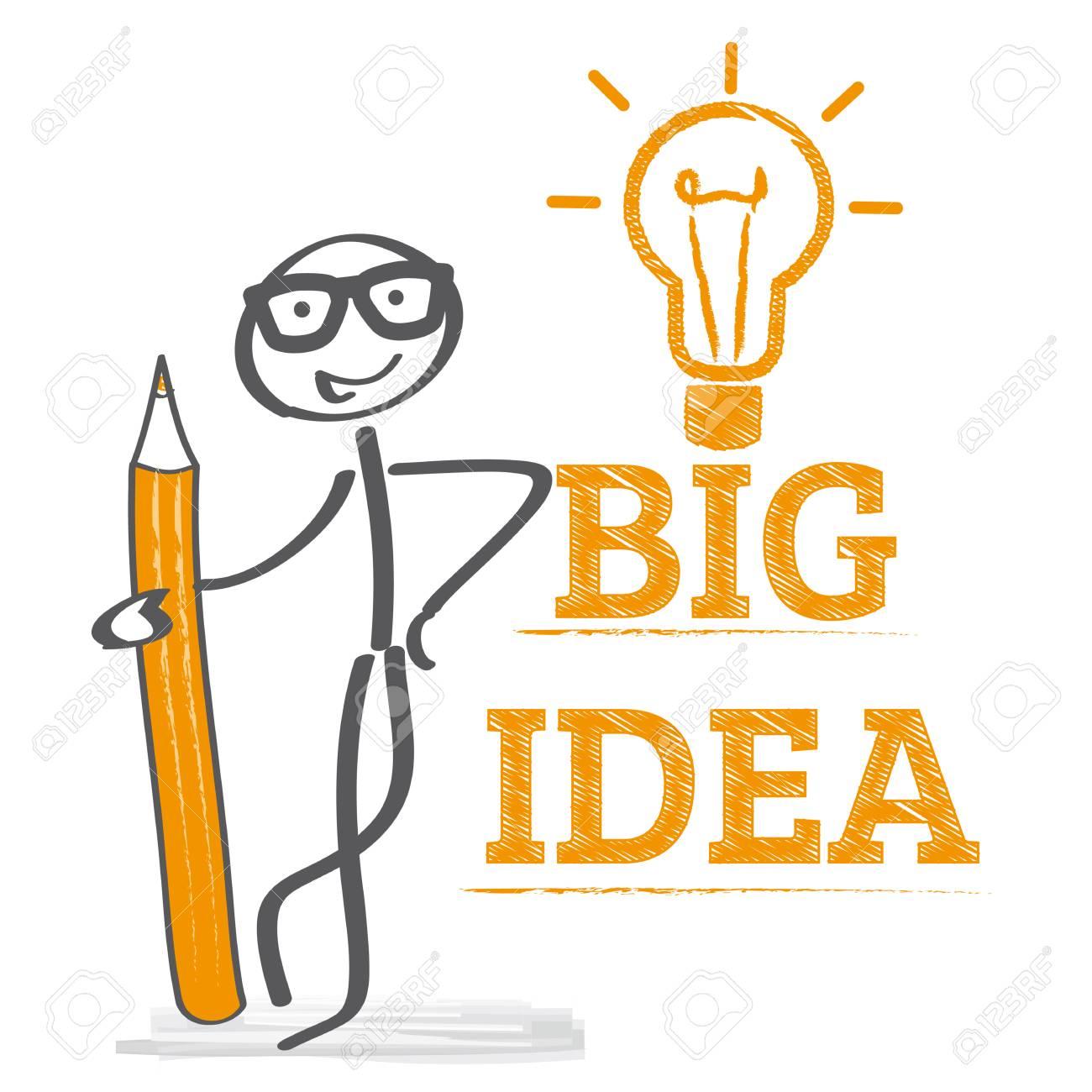 Big idea concept vector illustration - 80393688