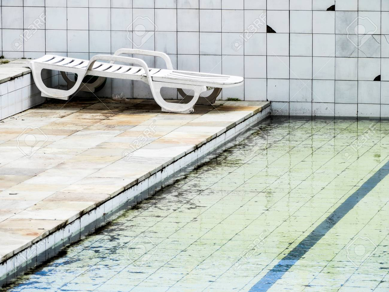 A Empty Pool In A Club Where There S A Good Restaurant And The Stock Photo Picture And Royalty Free Image Image 97303064