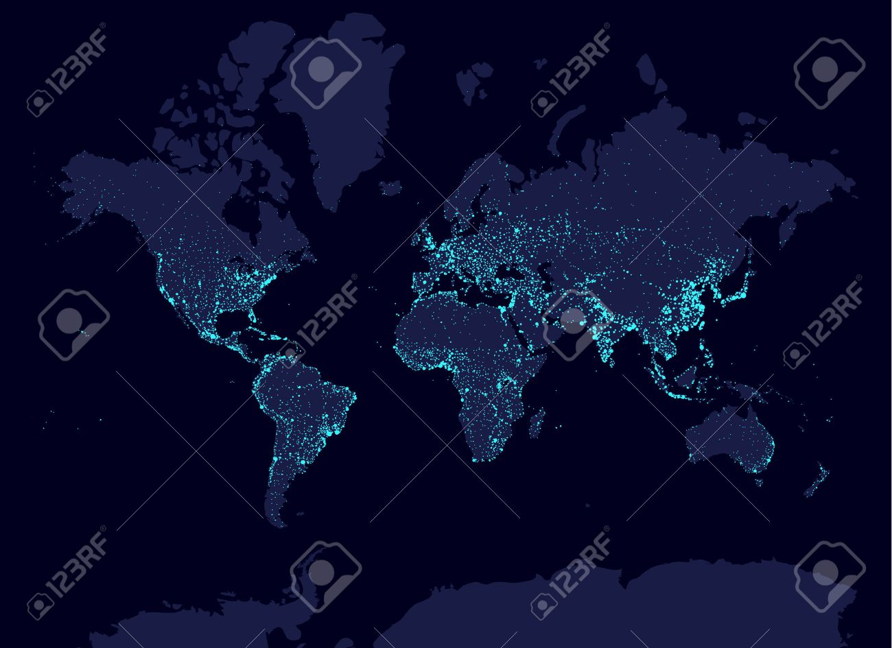 Earth at night world map earth day concept world population earth at night world map earth day concept world population biggest cities glow gumiabroncs Images