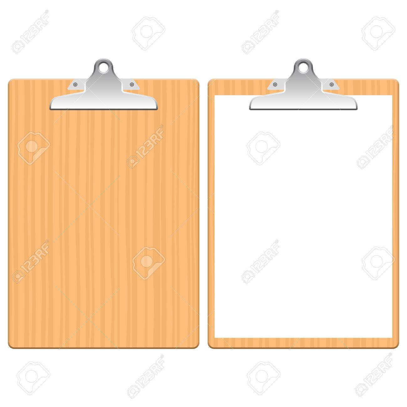 Layered illustration of Clipboard. Stock Vector - 17519680