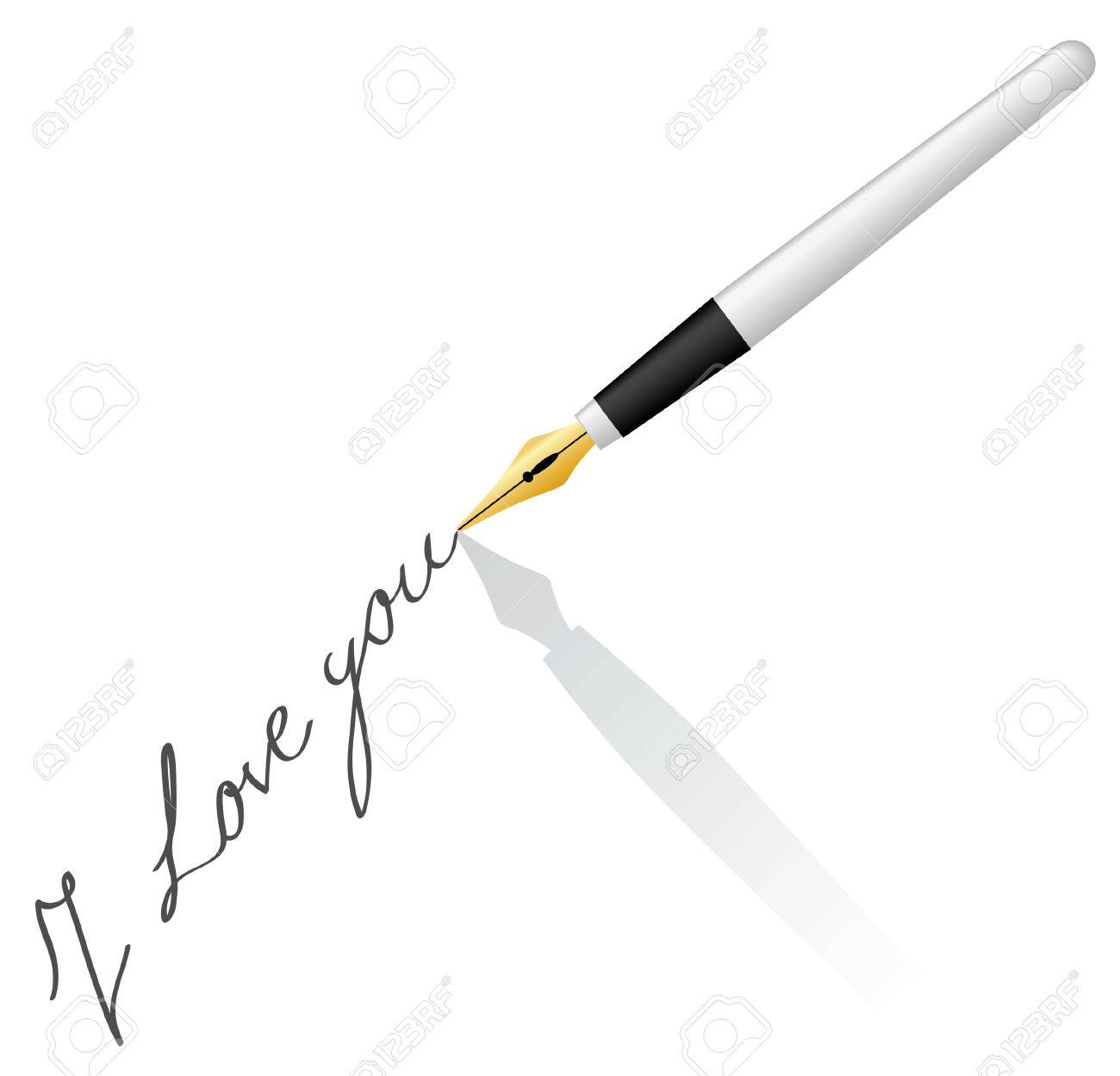 pen write Stock Vector - 2314163