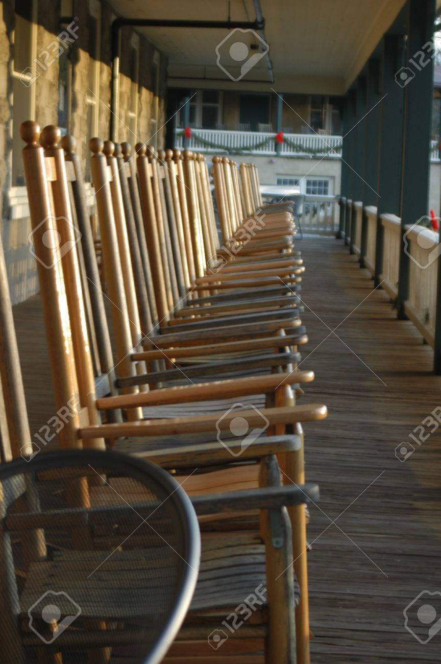 Amazing Rocking Chairs On The Porch In Rural North Carolina Ibusinesslaw Wood Chair Design Ideas Ibusinesslaworg