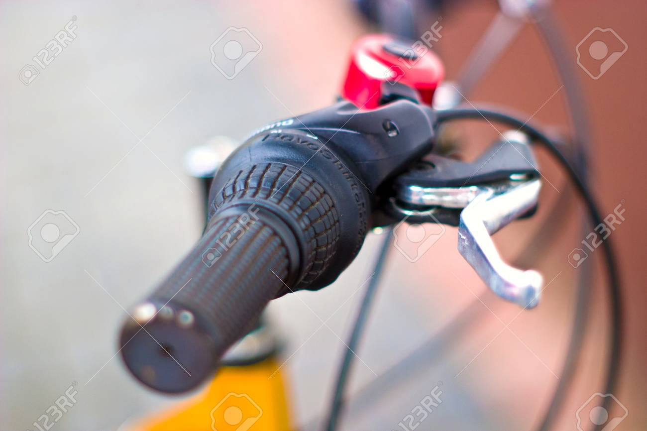 bike, small parts of bike in sunny day Stock Photo - 7179264