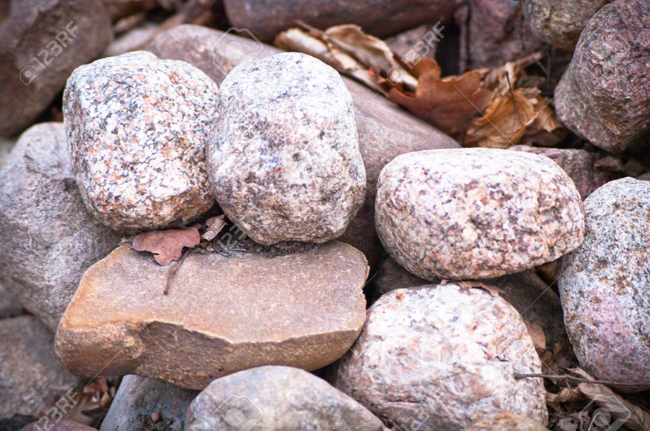 pebble stones in sunny day great as a background Stock Photo - 12959884