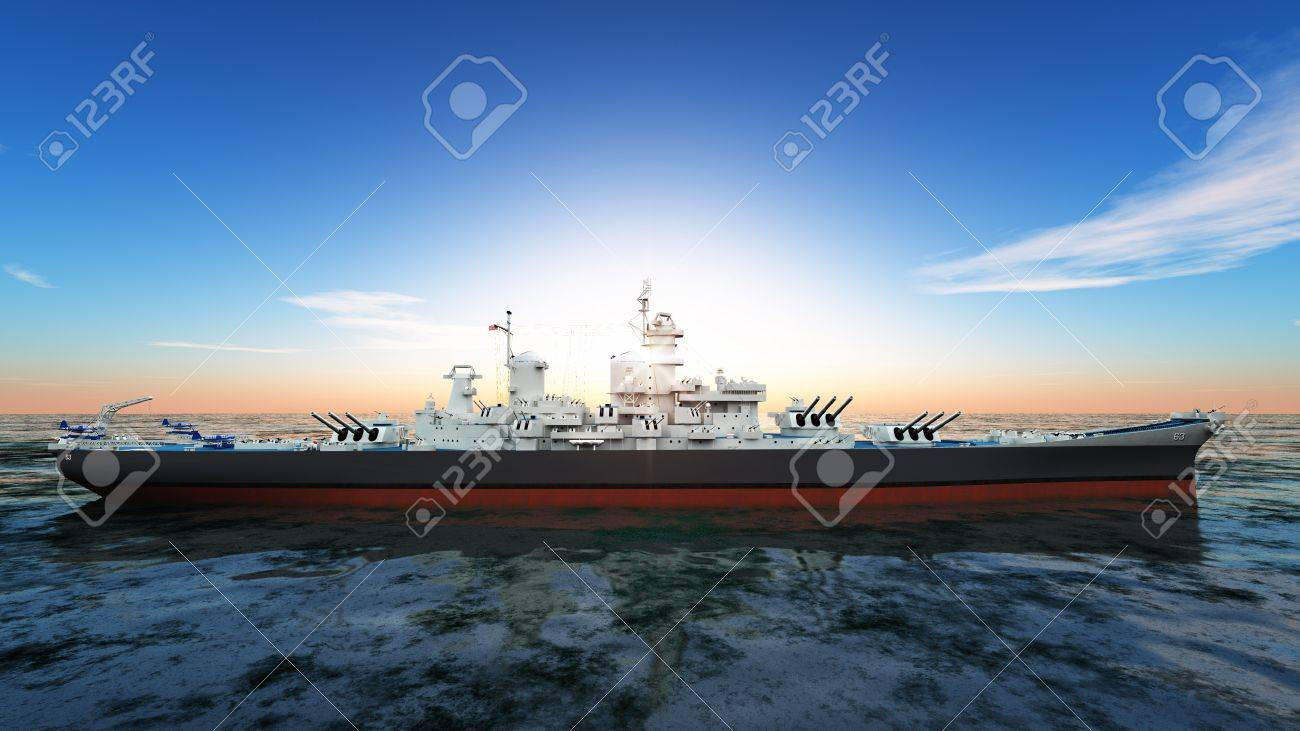 aegis-equipped destroyer Stock Photo - 16923155