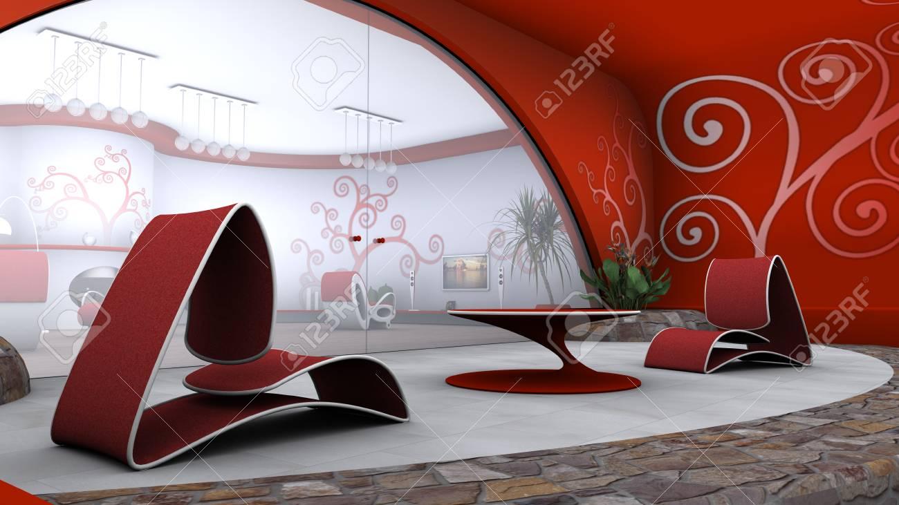 living room Stock Photo - 22671317