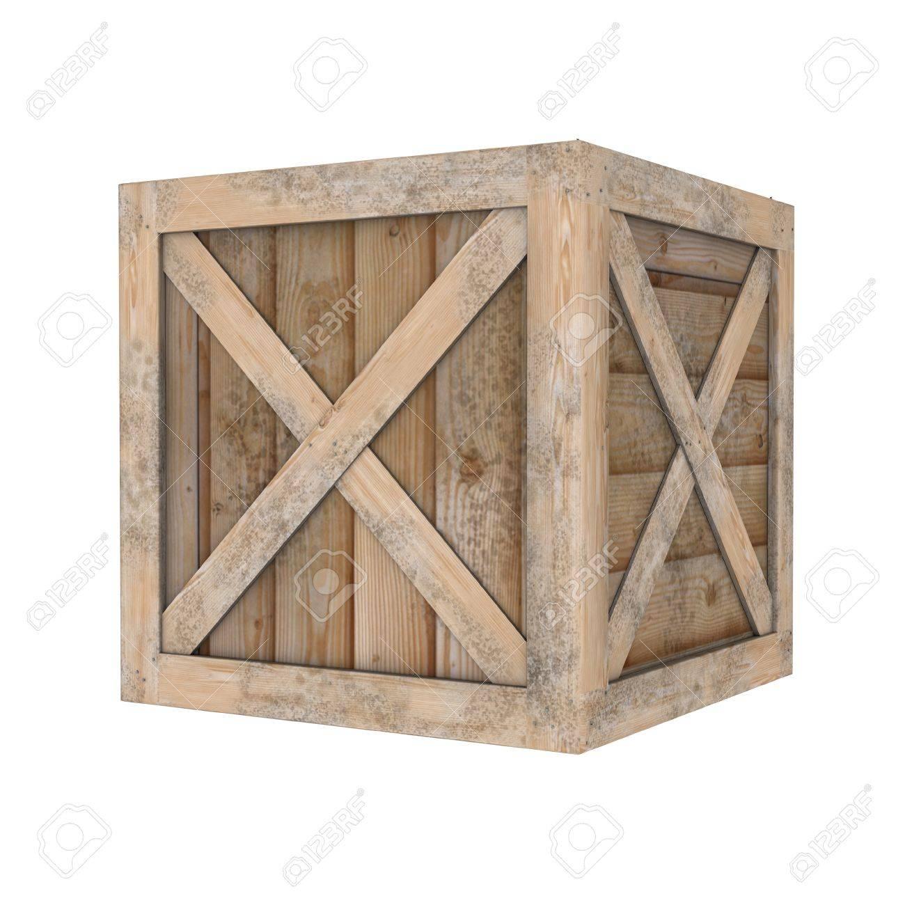 wooden box - 31374786