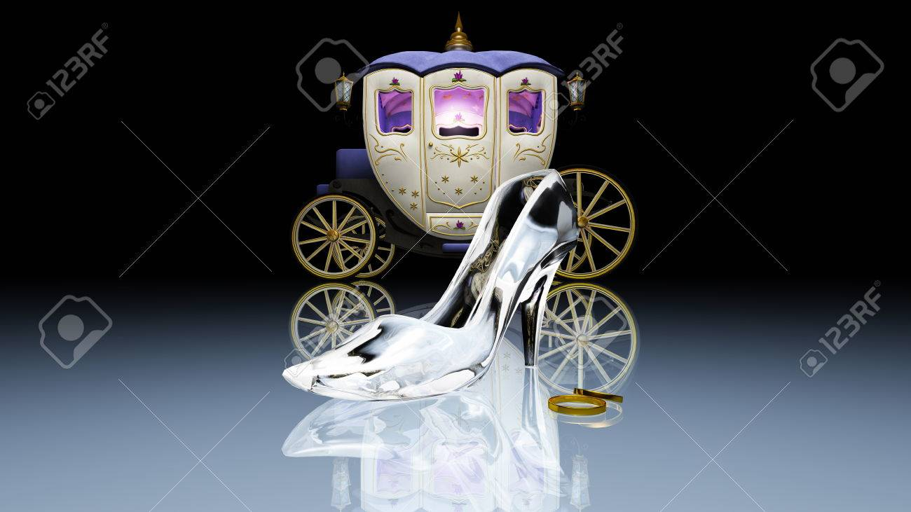 glass shoes - 35218725