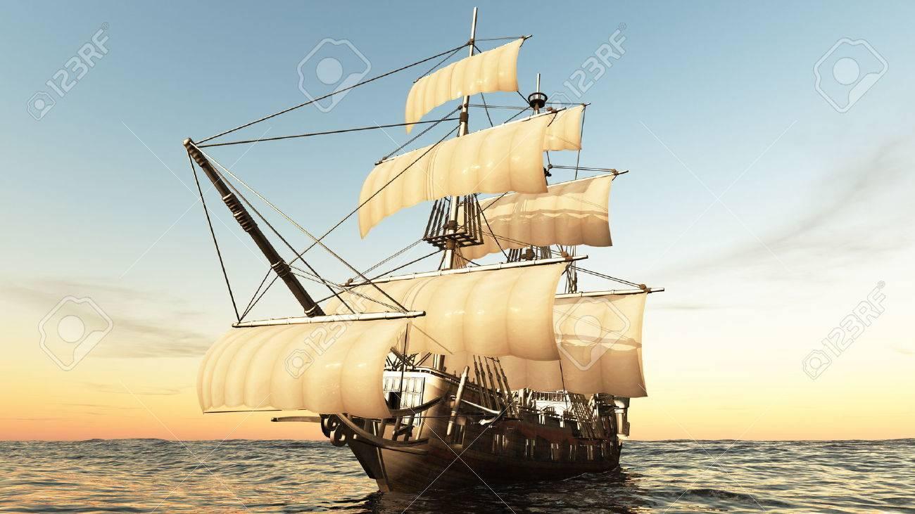 sailing boat - 38332683