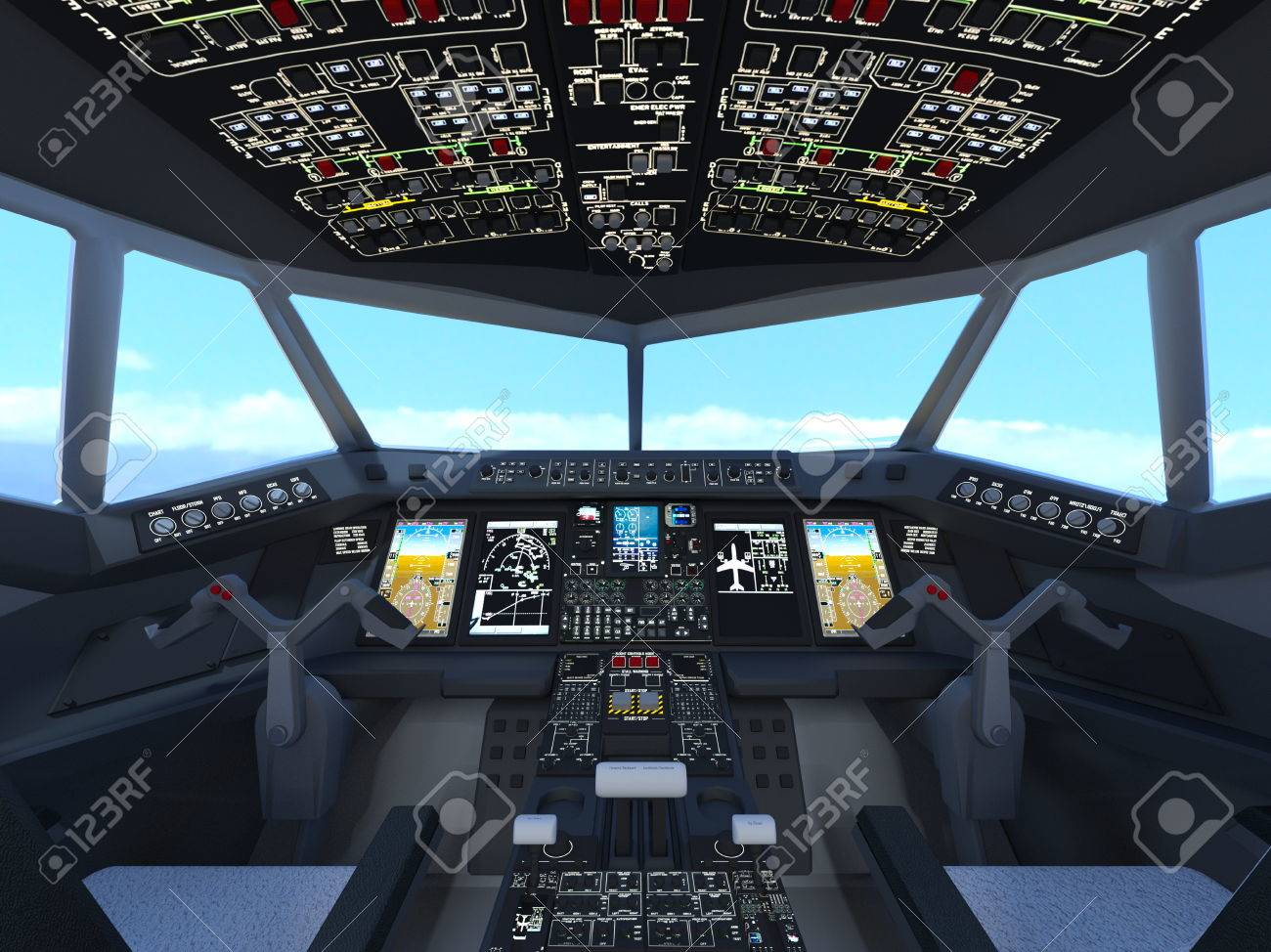 cockpit stock photo picture and royalty free image image 59119259