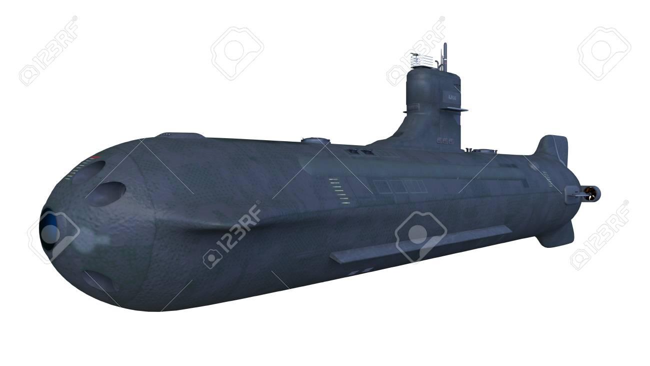 submarine ship 3D - 102268589