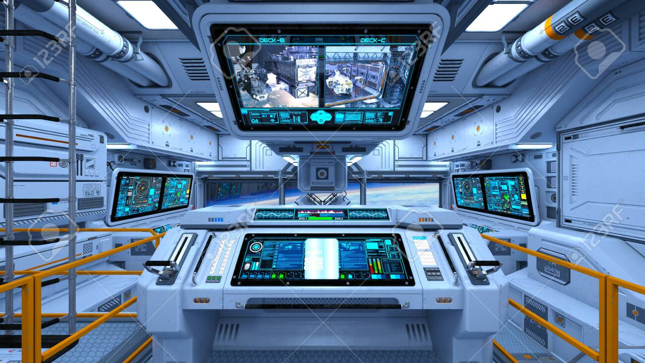 3D CG rendering of space ship - 130052012