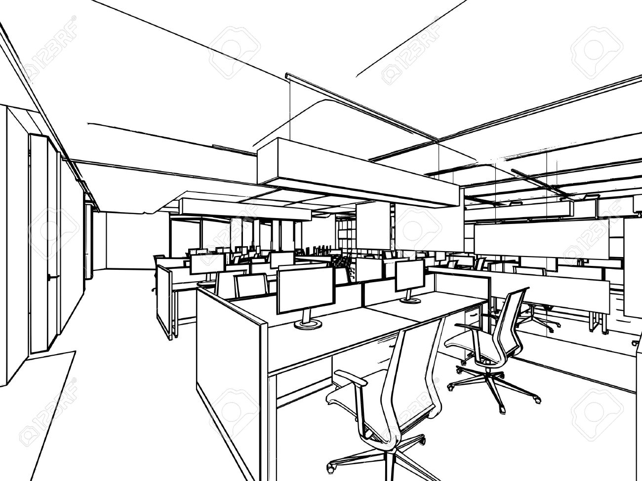 Image result for office drawing