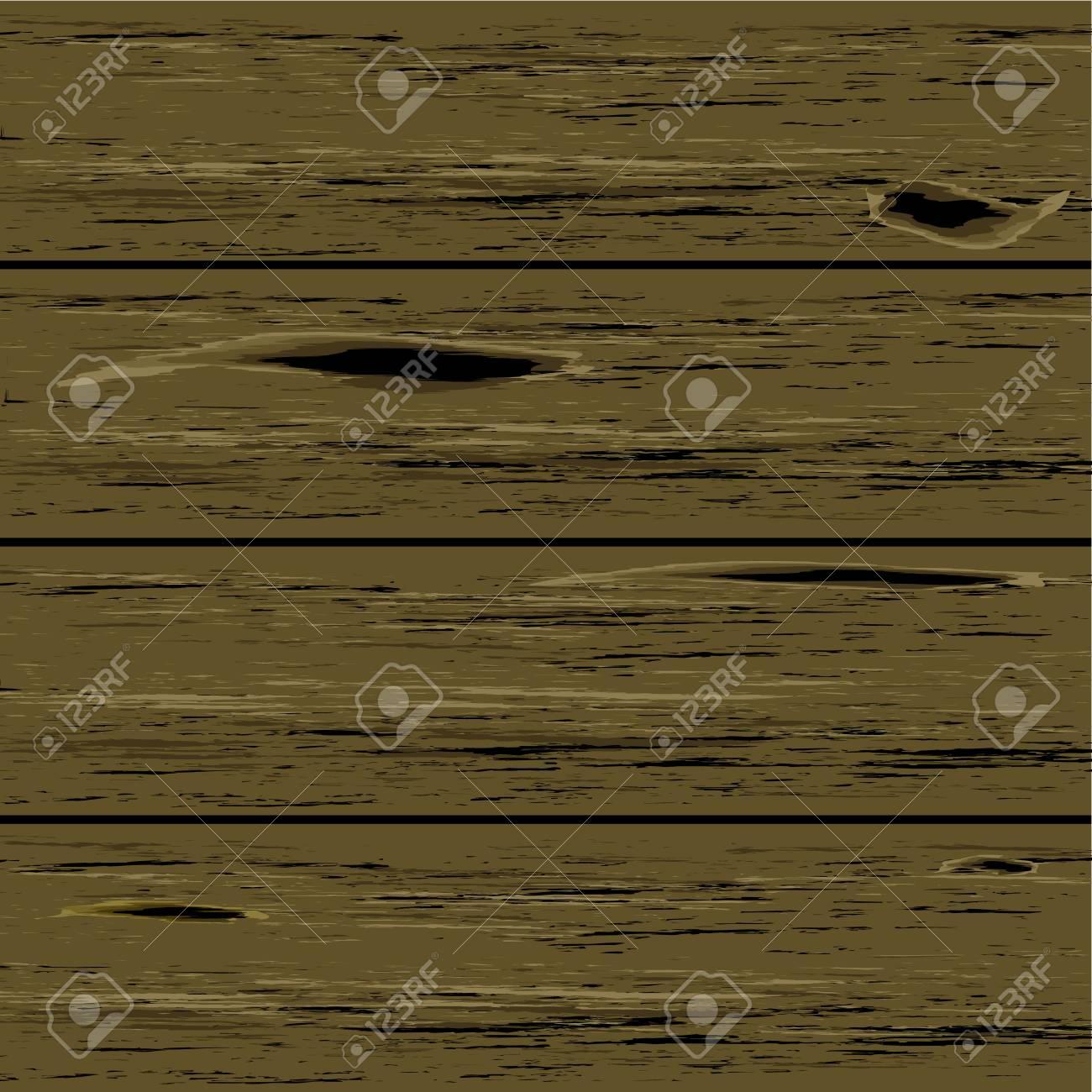 horizontal wood background. Horizontal Wooden Background. Vector Illustration Wood Background