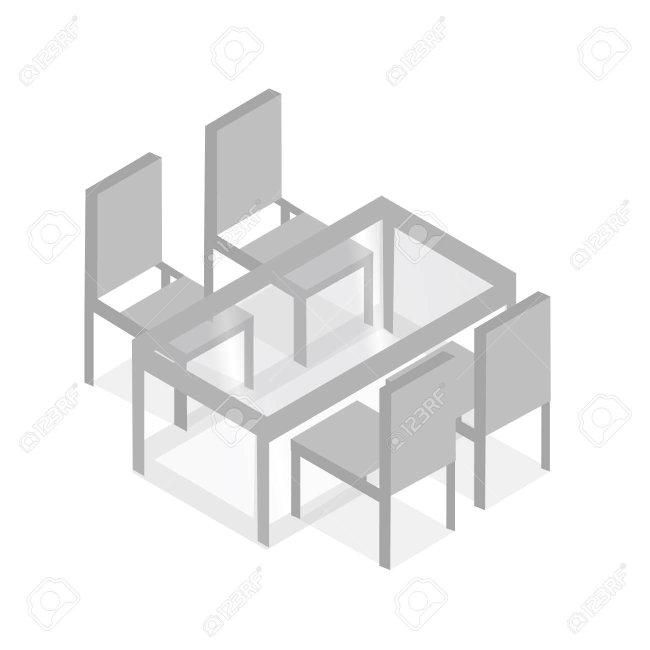 table avec des chaises pour les cafs table avec des chaises icne table avec des chaises modernes table avec des chaises sur fond blanc - Des Chaises