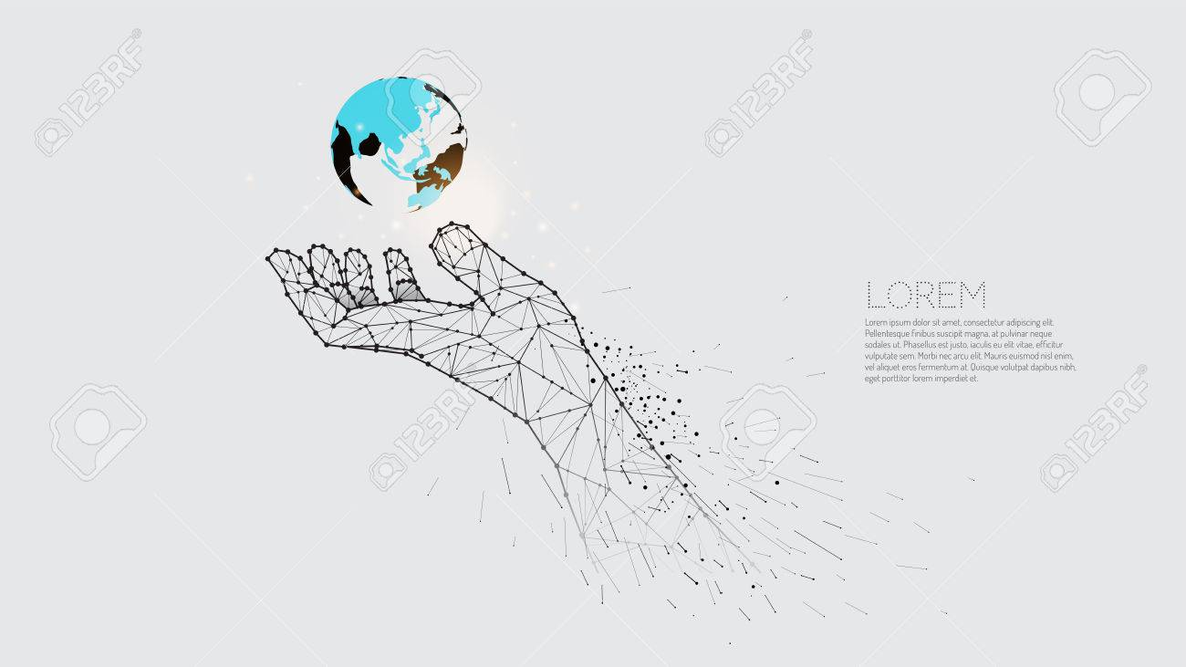 hand carrying earth royalty free cliparts vectors and stock