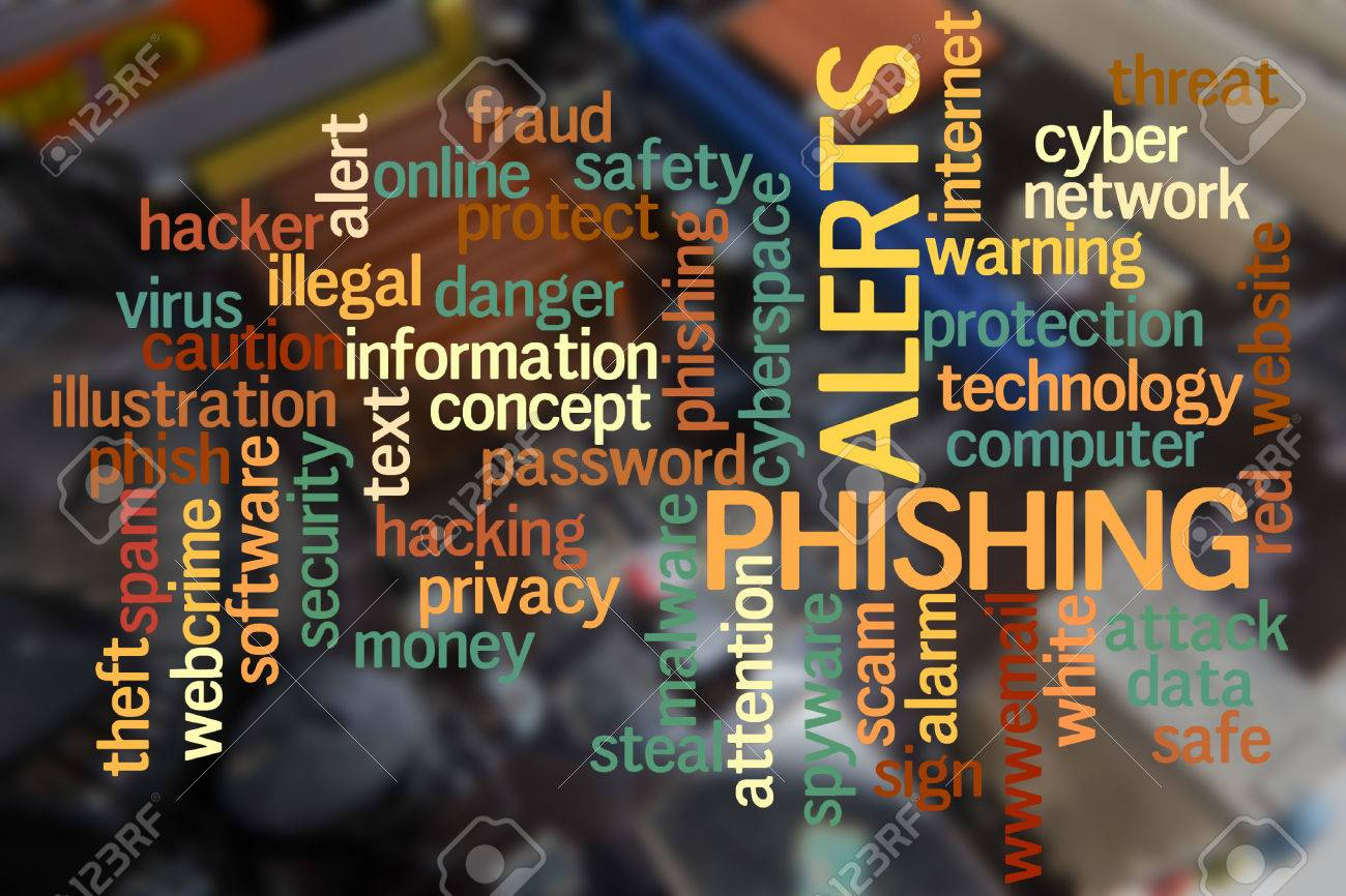 Blurred Pcb Closeup Of Electronic Circuit Board With Cpu Processor Virus Text Stock Image Phishing Cloudwords Photo