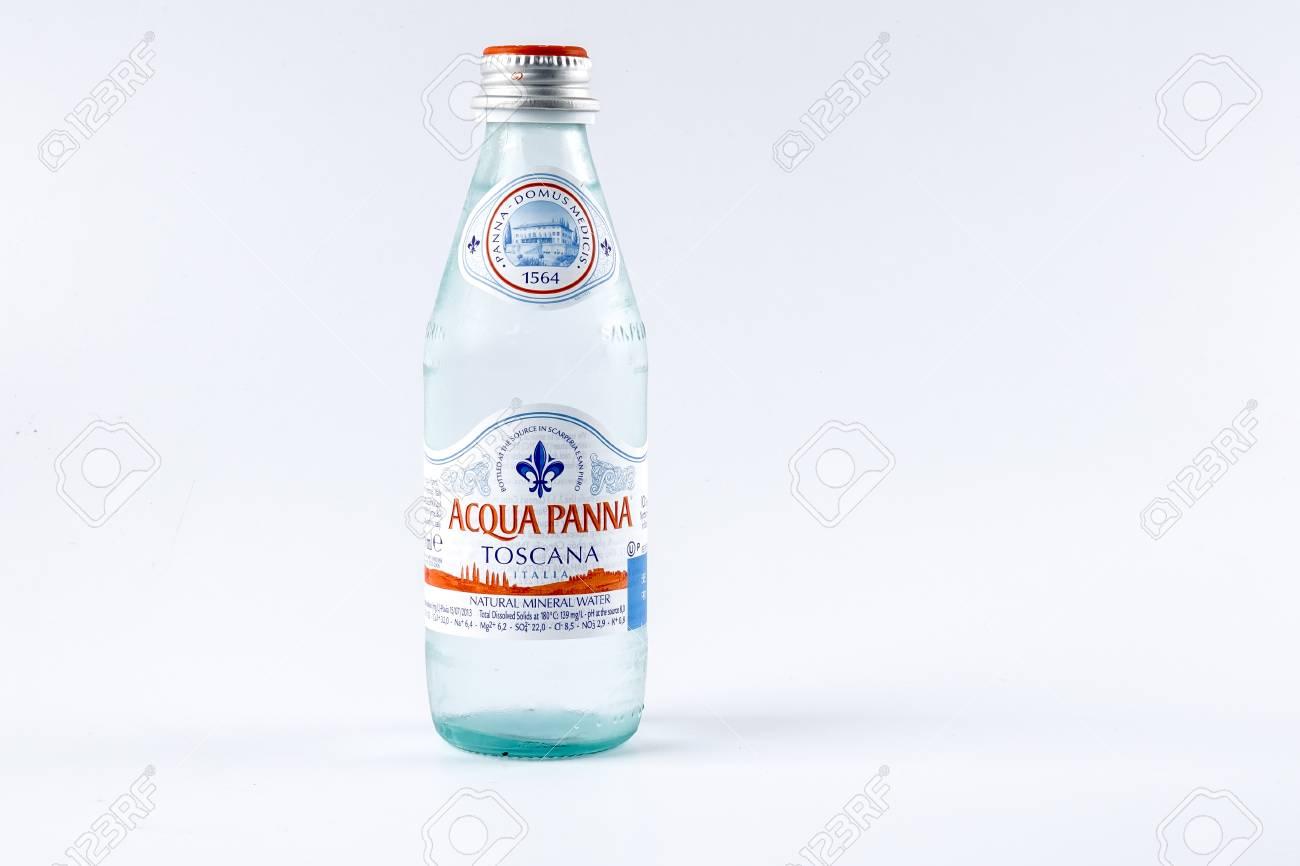 630f60e6e8 KUALA LUMPUR, 15 OCTOBER 2017. Acqua Panna Toscana mineral water. The most  popular