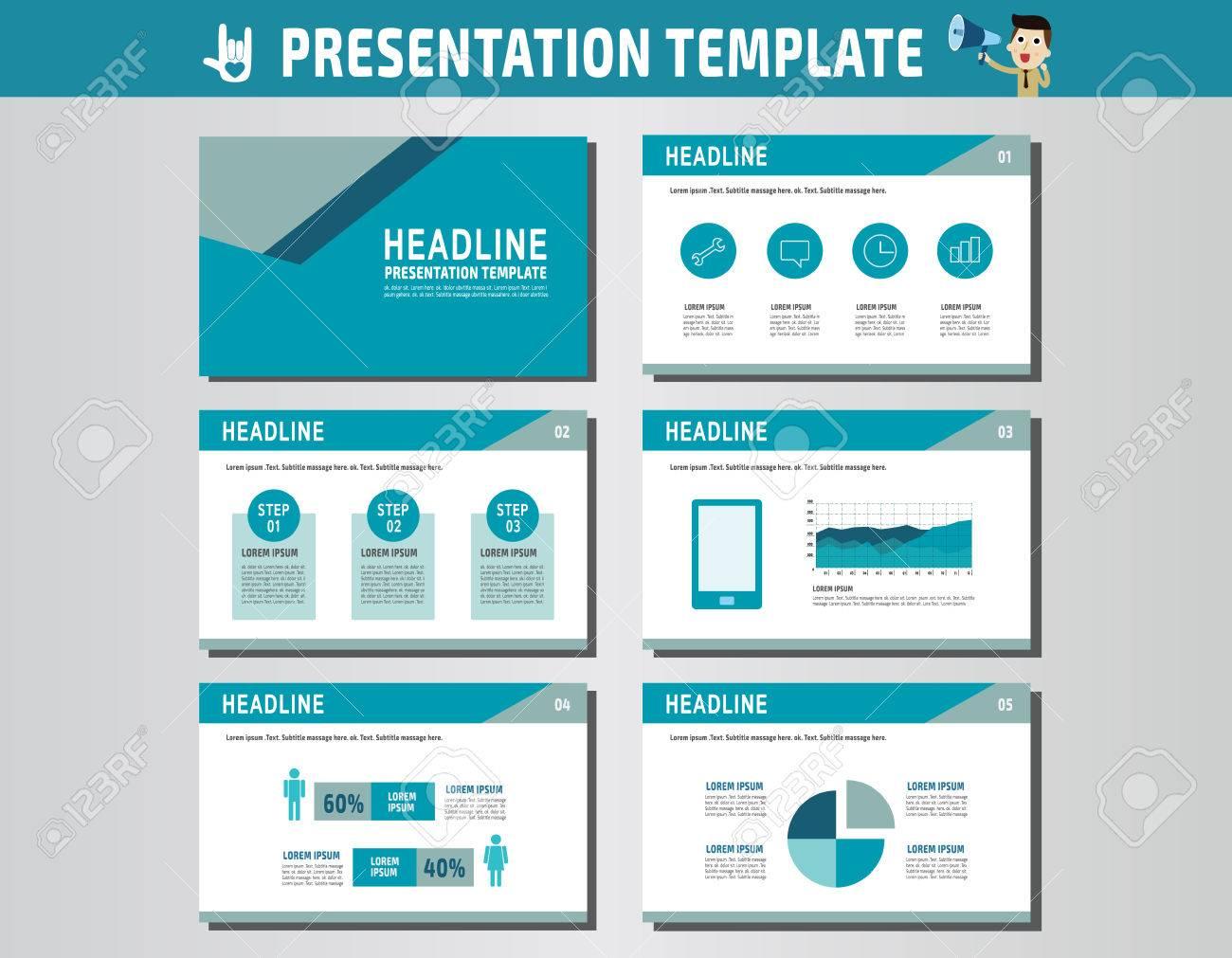 多目的プレゼンテーション template icons インフォ グラフィック