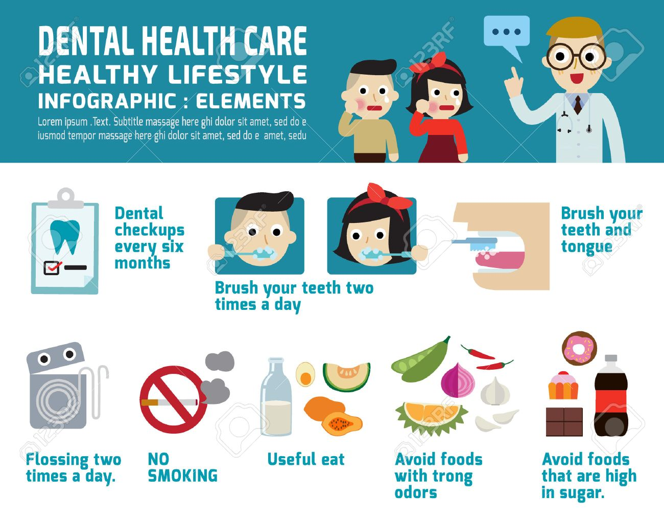51917637-dental-health-care-infographic-