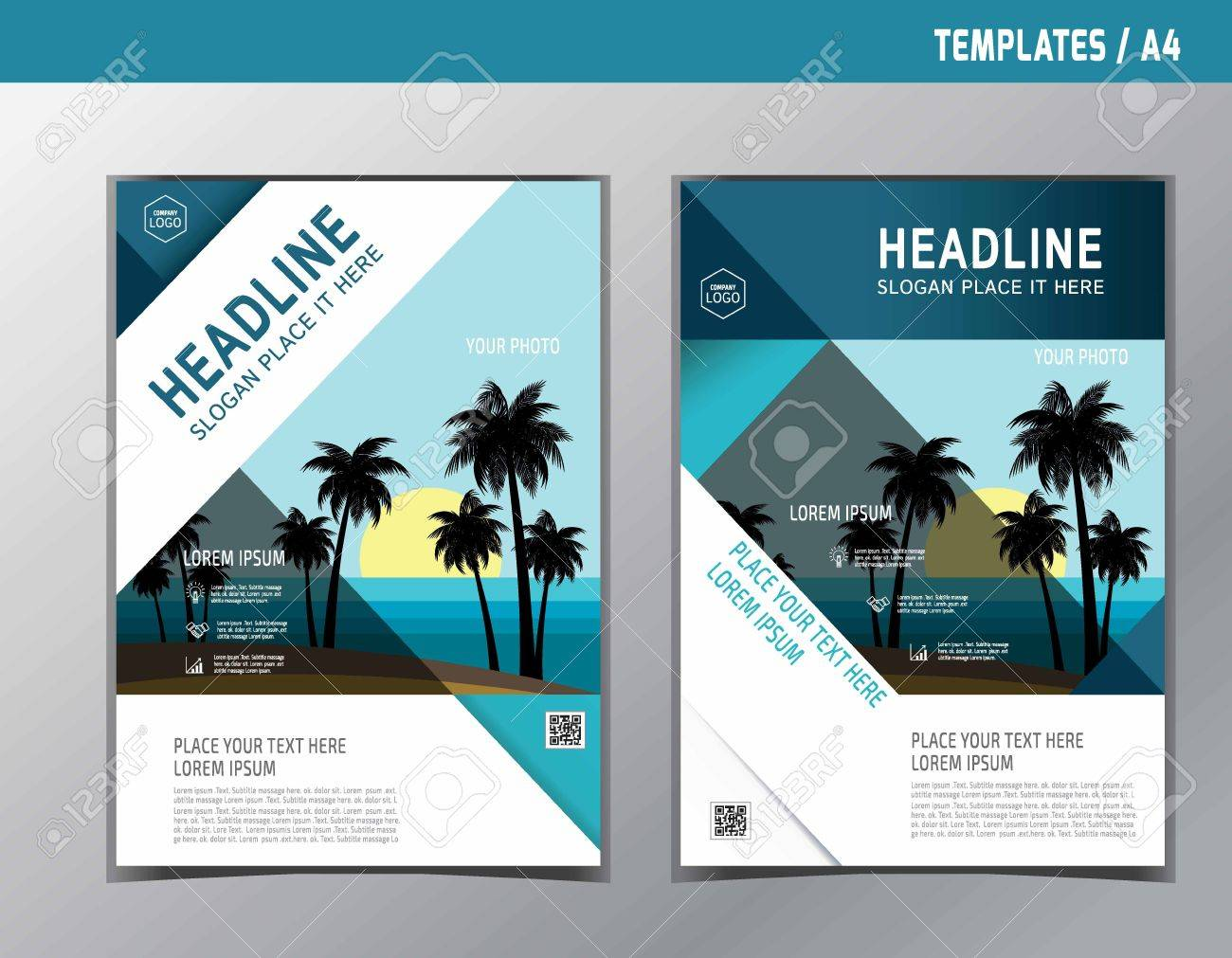 Abstract brochure or flyer design template.Brochure vector.Brochure template. Flyer design. Flyer template.Brochure abstract design. Brochure background. - 59260676