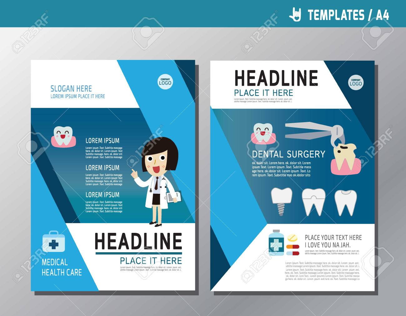 dental brochure templates.html