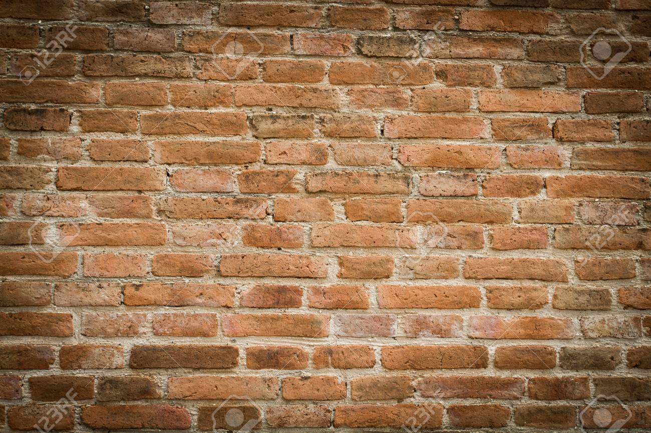 Mattoni Bianchi Per Esterni vecchia priorità bassa di struttura della parete di mattoni rossi, sfondo  grunge e marciapiede blocchi di strada abbandonato esterni di fondo urbano
