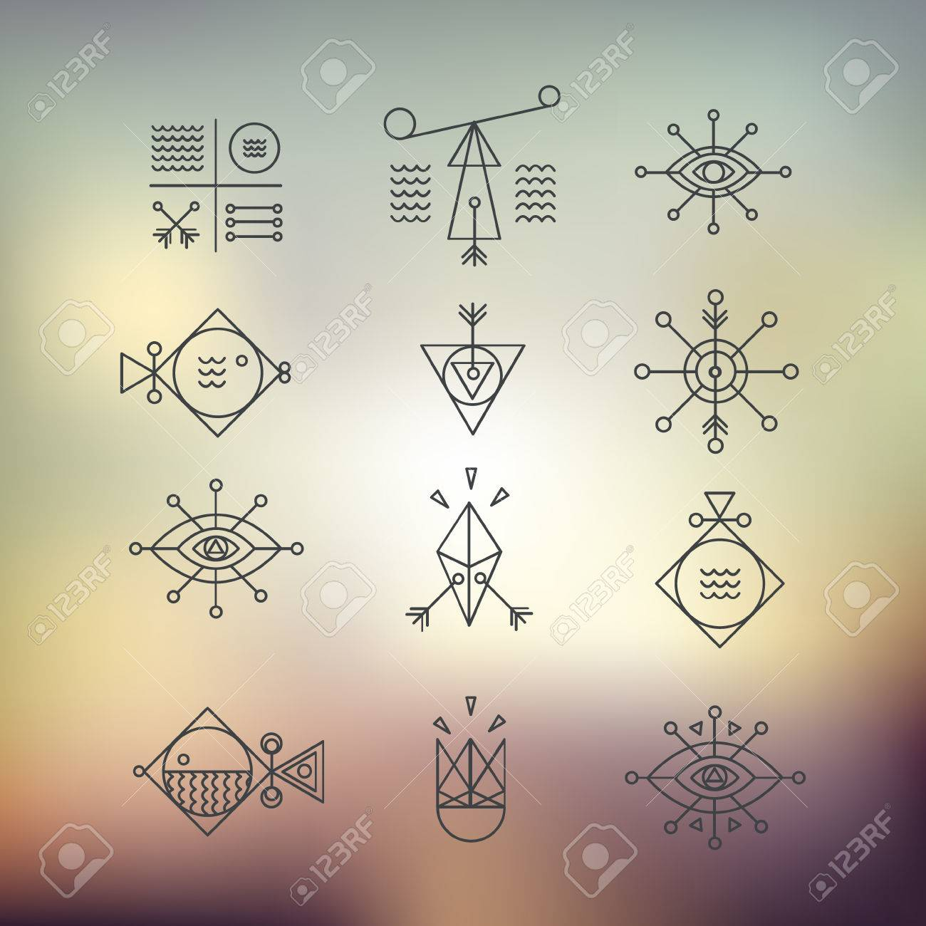 Line Shapes Geometry Alchemy Religion Philosophy Spirituality