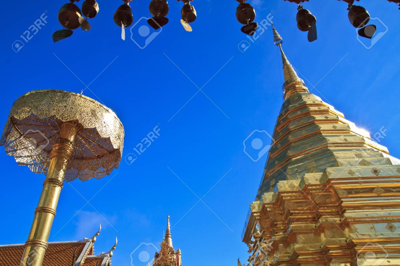 Wat Phra That Doi Suthep Stock Photo - 17191221