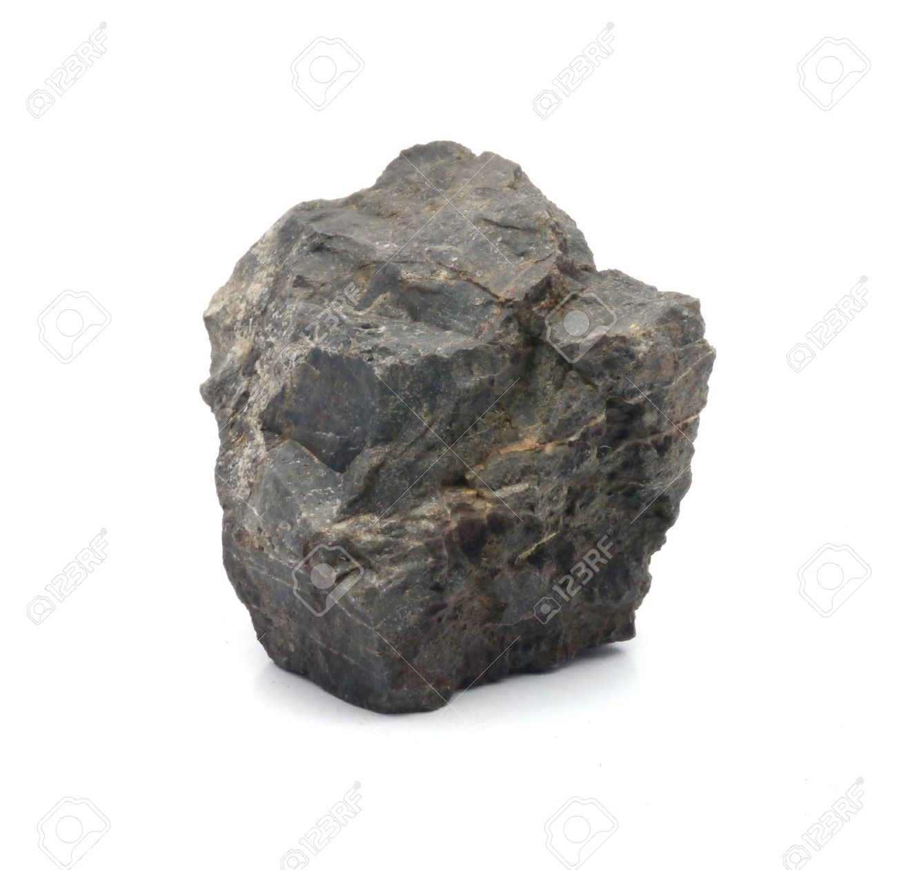 stone Granite,isolated on white nice Stock Photo - 14129648