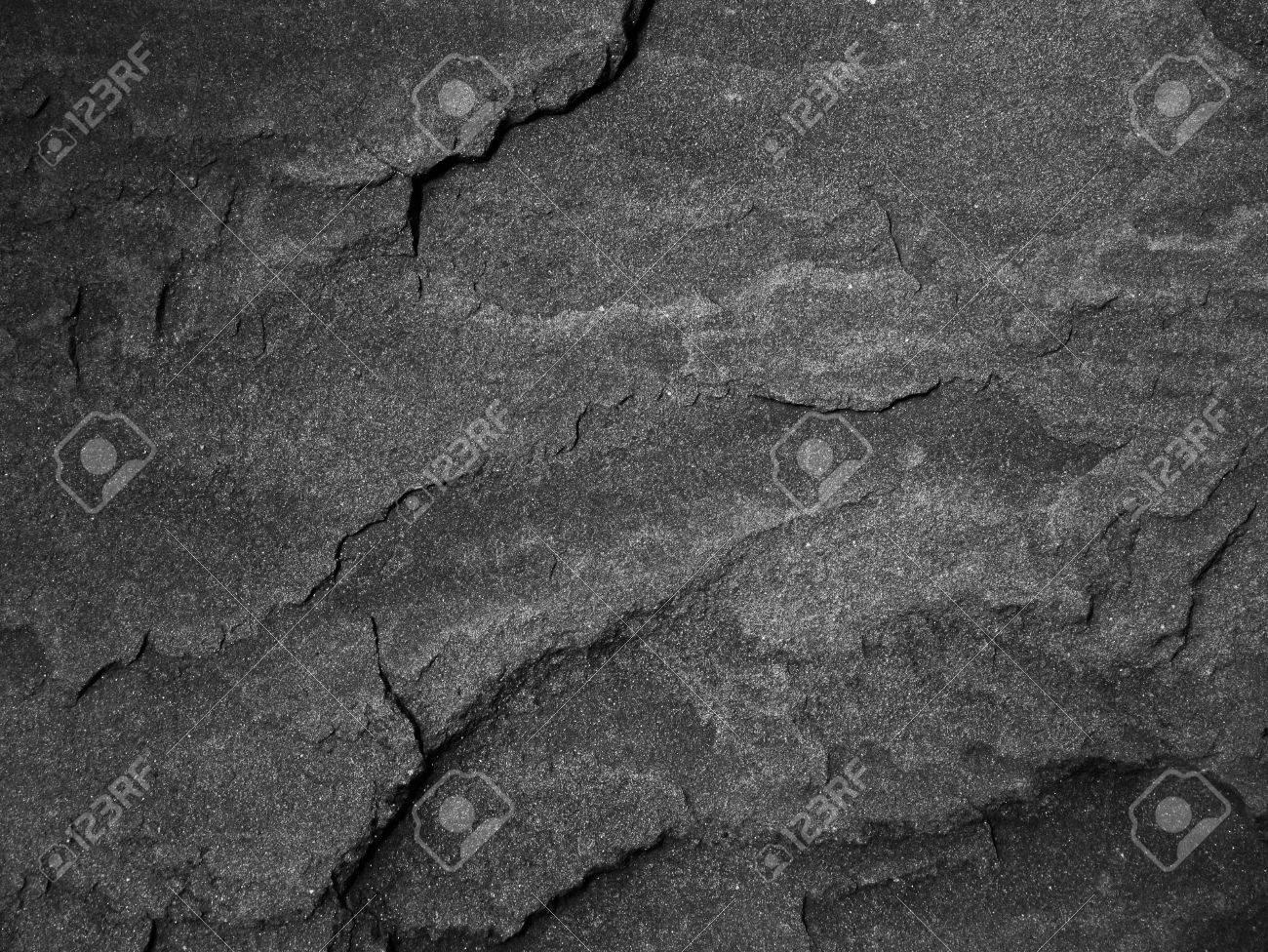 Black wall stone background Stock Photo - 35233450