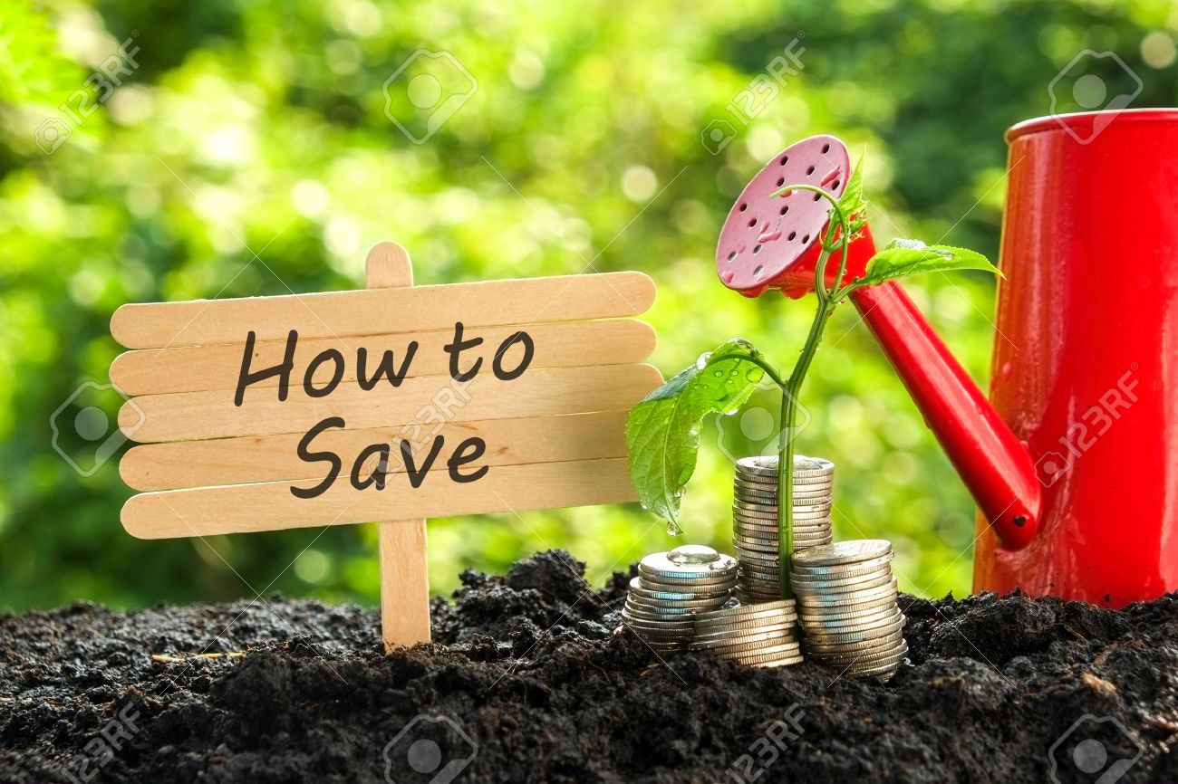 save money for investment concept Stock Photo - 47356896