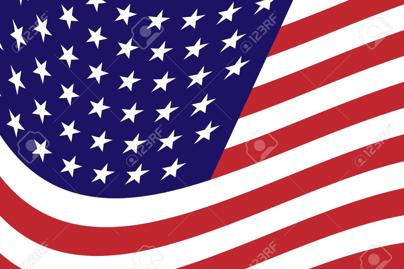 Flag of the united states Consists of white, red, blue and stars. vector illustration of usa flag - 139185598
