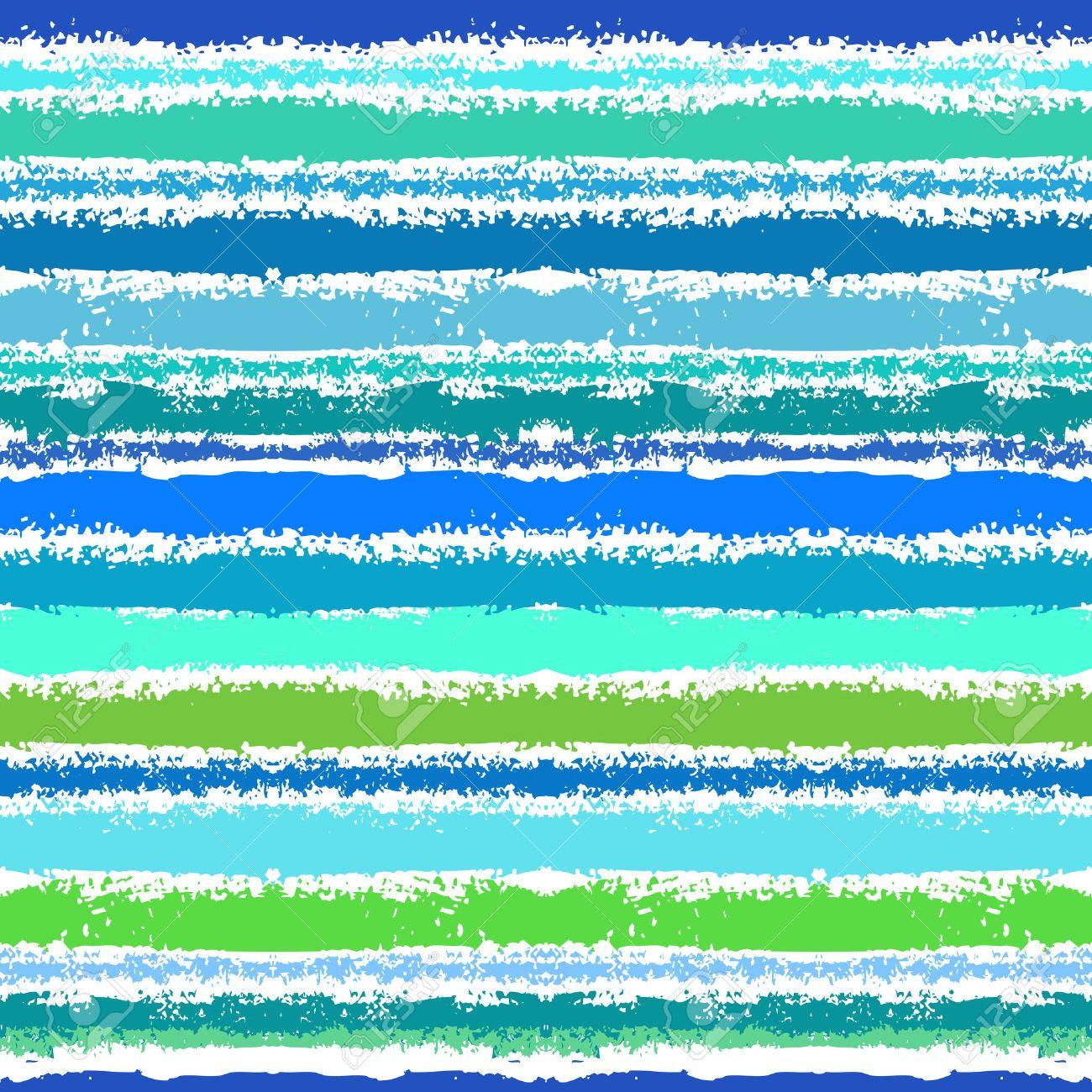 アクアの色合いで海の波に触発さの縞模様 Web 印刷 壁紙 家の装飾の