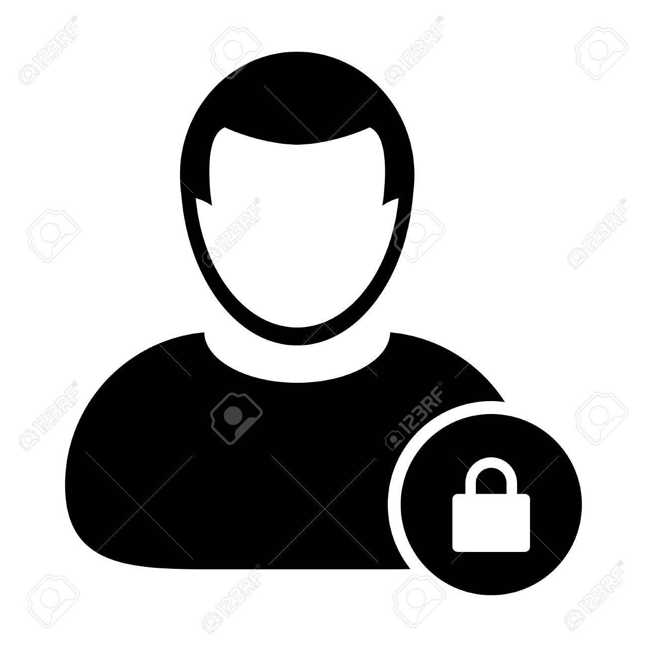123Rf Password user icon - lock, security, password, login user icon in (glyph