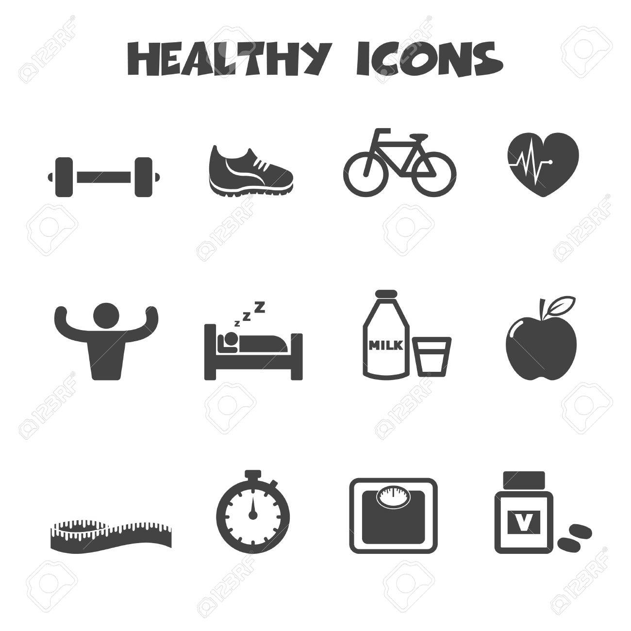 Healthy icons symbols royalty free cliparts vectors and stock healthy icons symbols stock vector 26618701 biocorpaavc Images