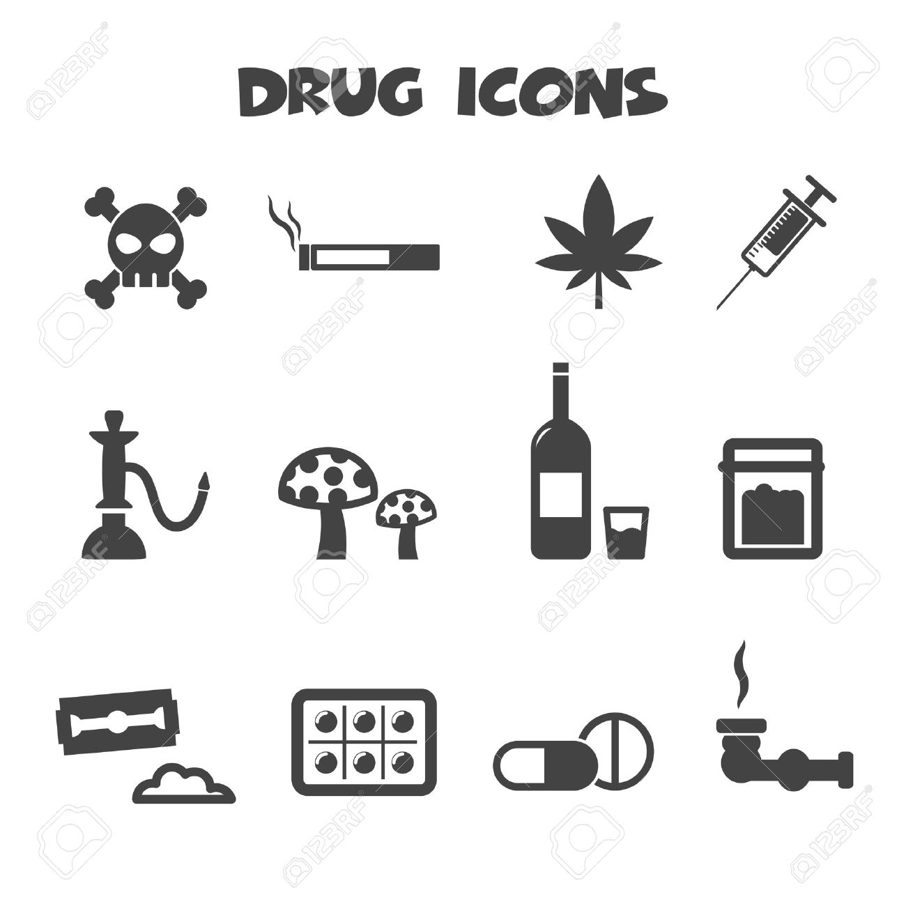 Drug icons symbols royalty free cliparts vectors and stock drug icons symbols stock vector 26621892 biocorpaavc Images