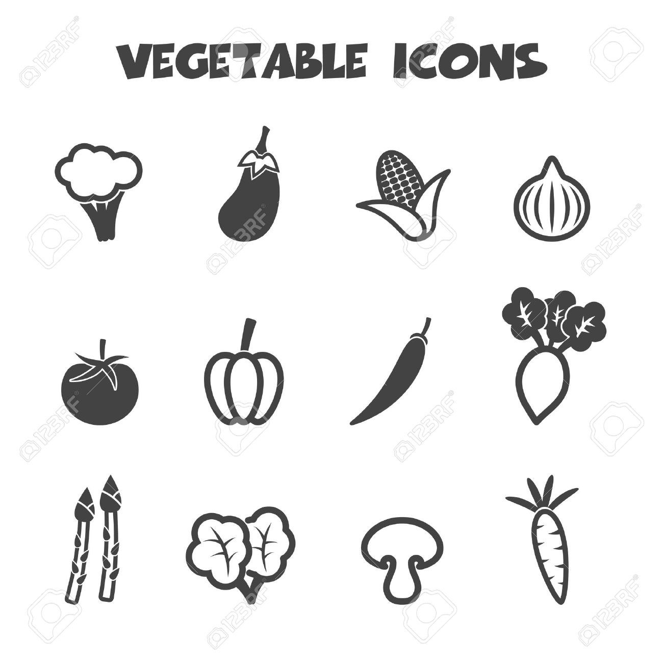 Broccoli symbols biocorpaavc