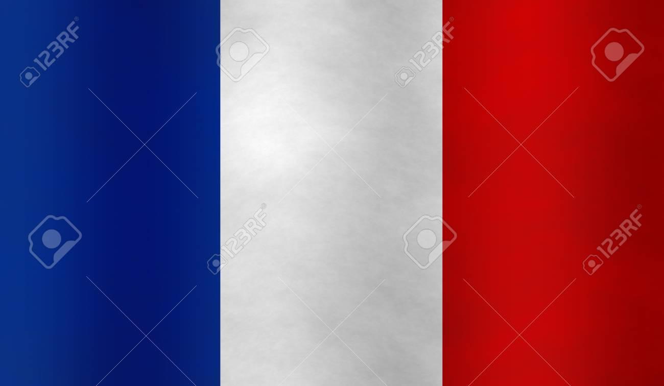 飛行フランス国旗のイラスト の写真素材画像素材 Image 72732384