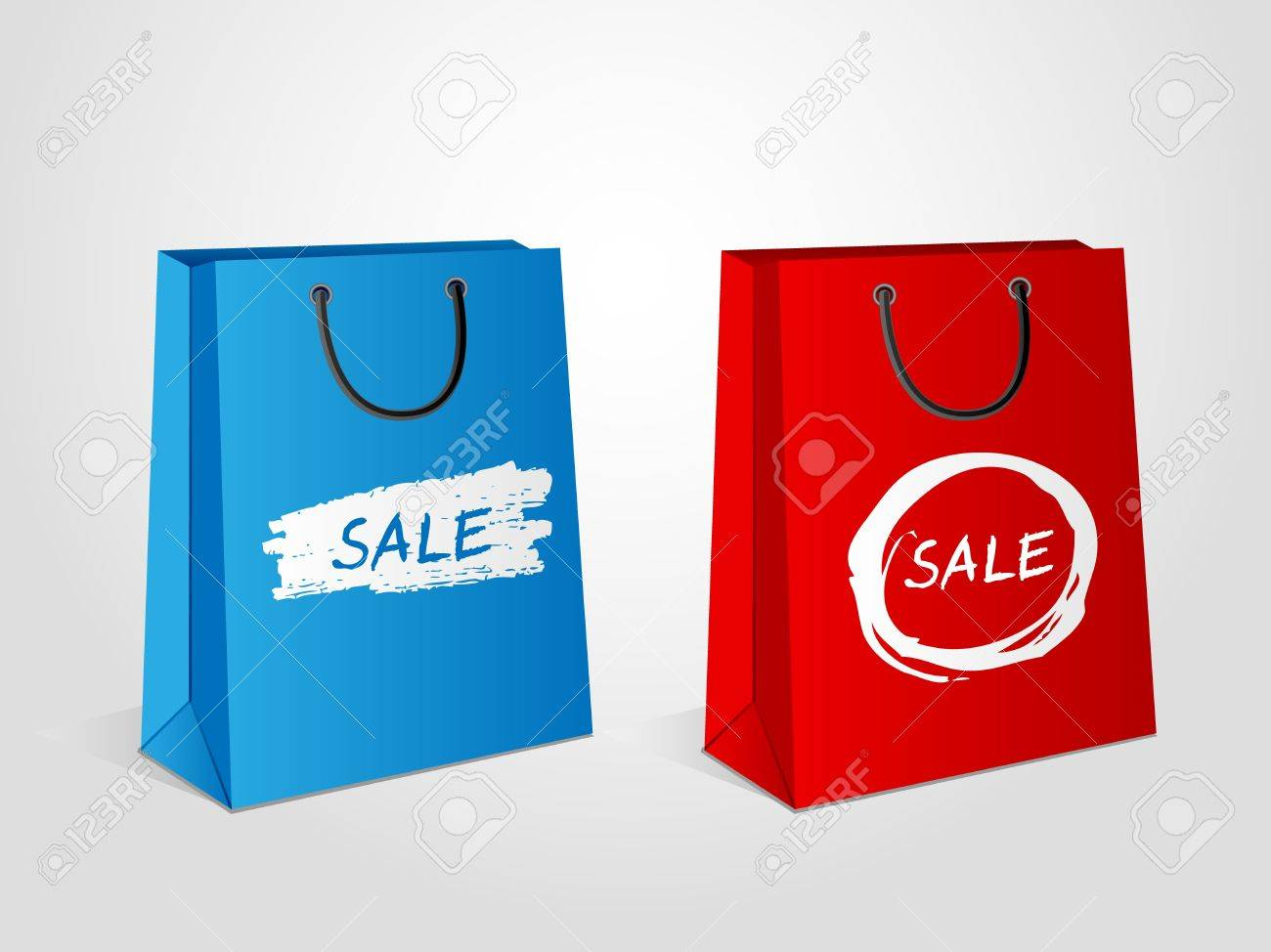 shopping bags sale royalty free cliparts vectors and stock
