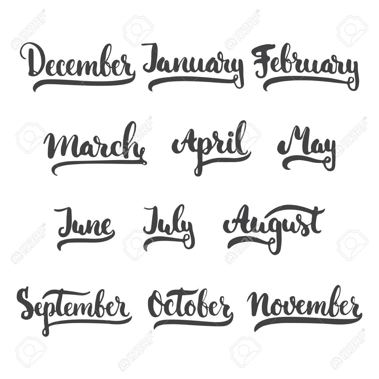 12 month of year january february march april may june