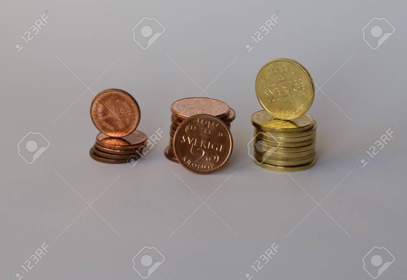 Neue Ausgabe Der Münzen In Schweden 2016 2017 Nya Svenska Mynt