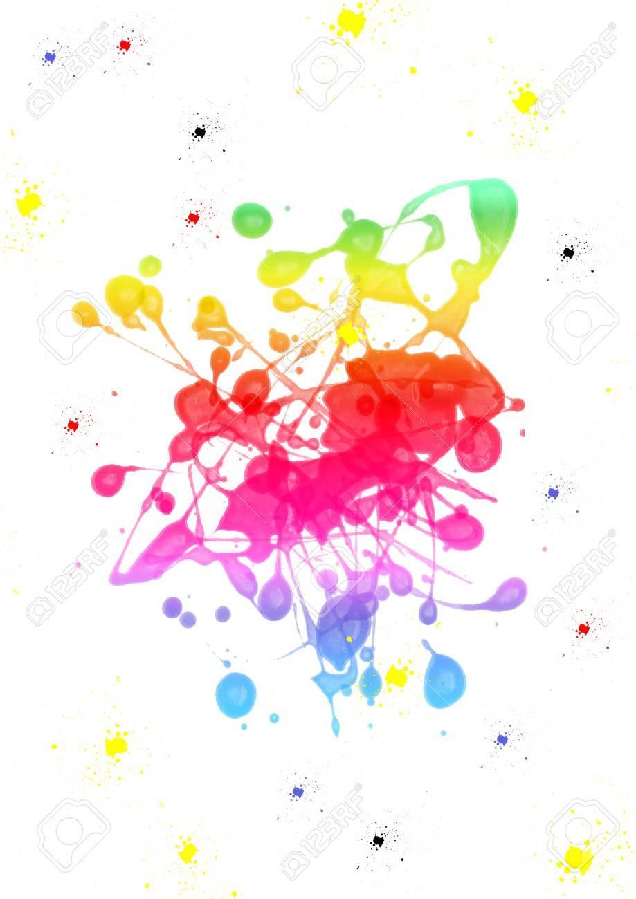 Colorful paint blot Stock Photo - 6672831