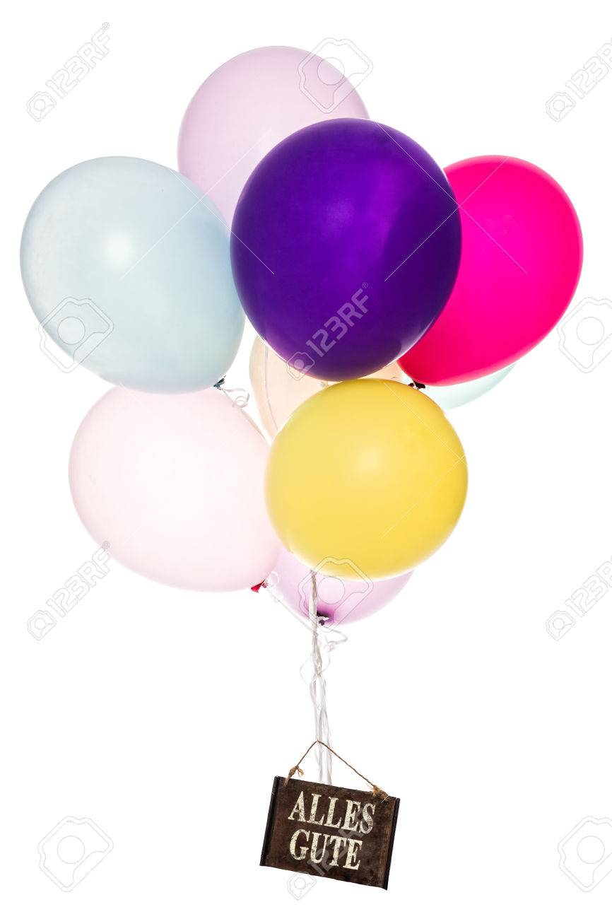 Colorful balloons old sign all the best greeting card stock colorful balloons old sign all the best greeting card stock photo 42111364 kristyandbryce Image collections