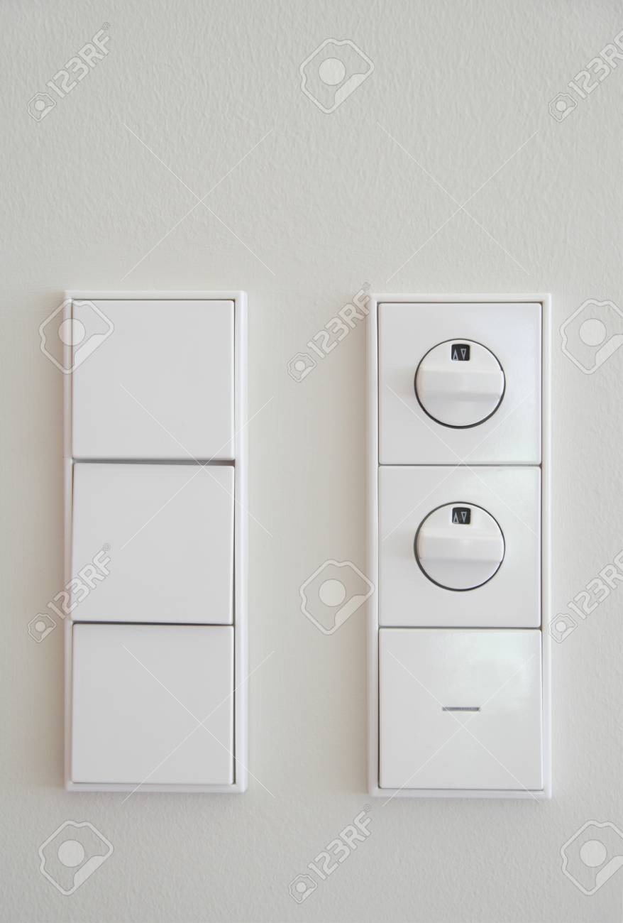Germany,Upper Bavaria,Munich,Close Up Of Electric Switch And.. Stock ...